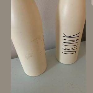 Rae Dunn Kitchen - Rae Dunn Water Bottle Drink Refresh Insulated NWOB